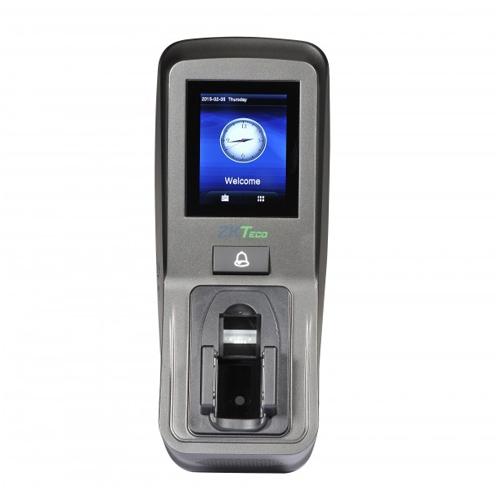 Cititor multi-biometric stand alone/controler cu pontaj ZKTeco FV350-ID, recunoastere vene, cititor de amprente, PIN