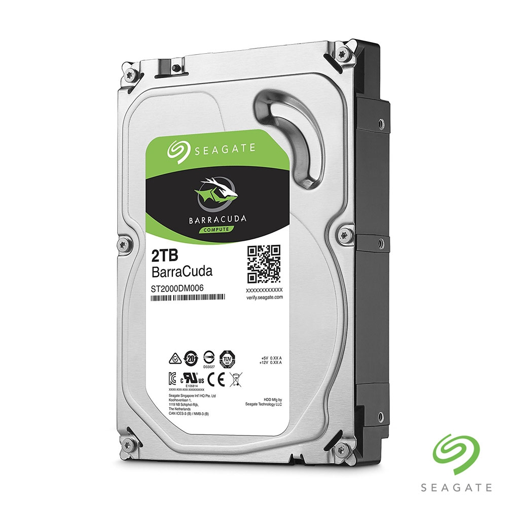 HARD DISK 2 TB 7200 RPM 64 MB SEAGATE BARRACUDA ST2000DM006