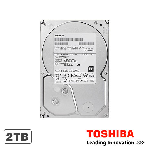 Hard Disk Toshiba DT01ACA200, 2TB, 64MB, 7200RPM