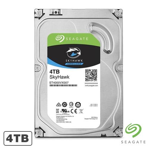 HARD DISK 4TB 5900RPM 64MB SEAGATE SKYHAWK HDD ST4000VX007