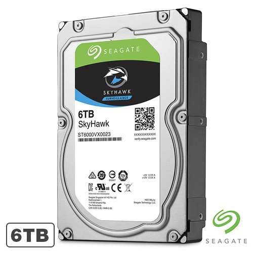 Hard Disk Seagate Skyhawk ST6000VX0023, 6TB, 64MB, 5900RPM