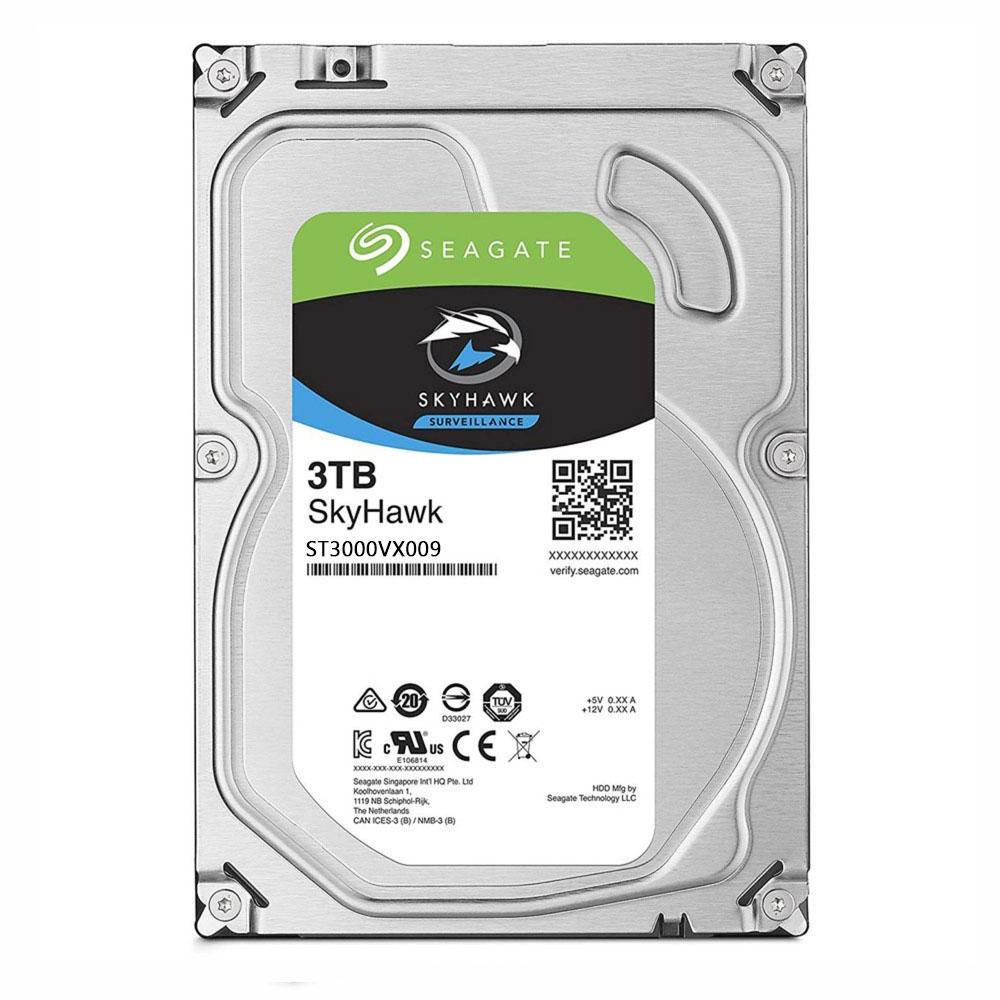 Hard Disk Seagate Skyhawk ST3000VX009, 3TB, 63MB, 5400RPM imagine spy-shop.ro 2021