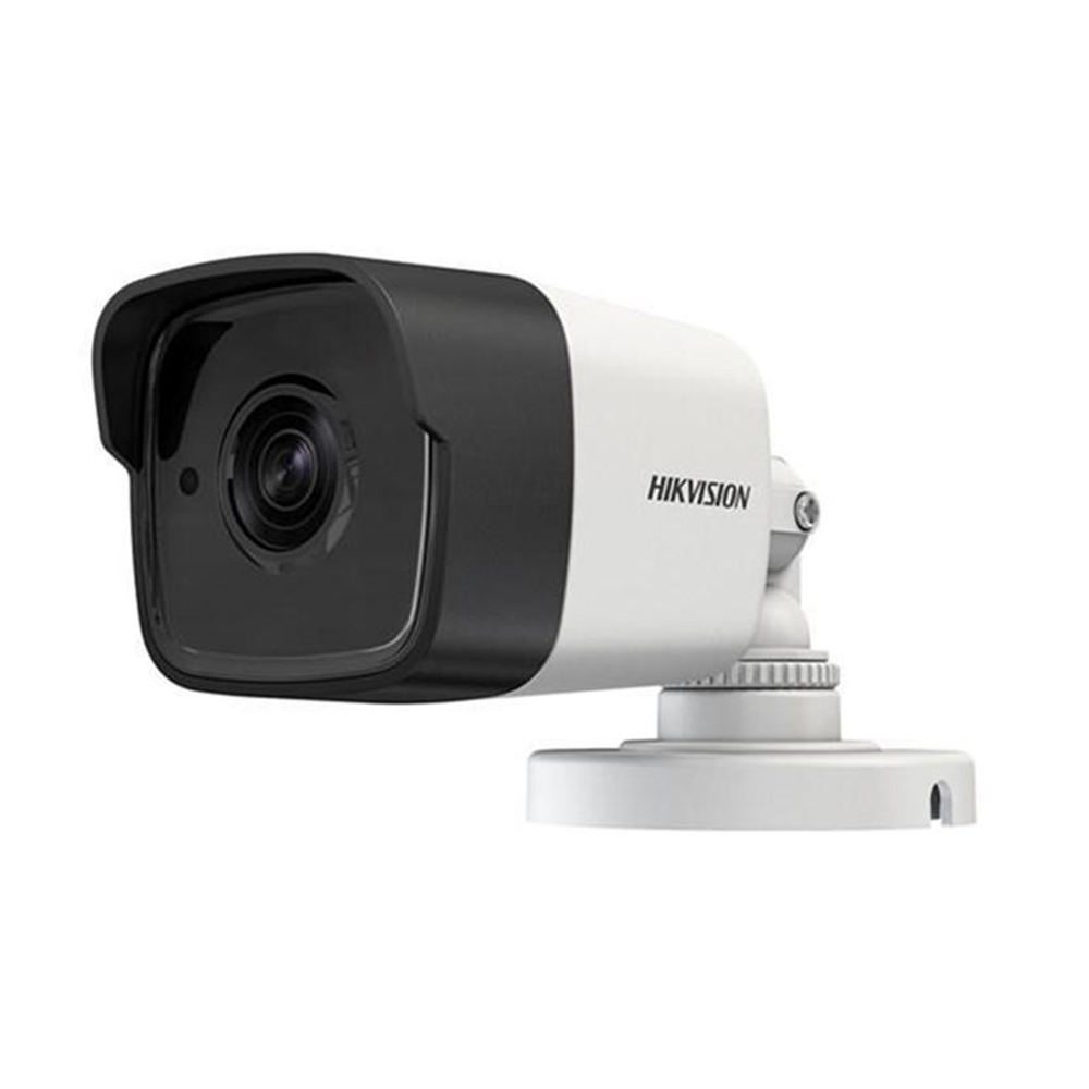 Camera supraveghere exterior HikVision TurboHD DS-2CE16H0T-ITFS 2.8 mm, 5 MP, IR 30 m, microfon, audio prin coaxial imagine spy-shop.ro 2021