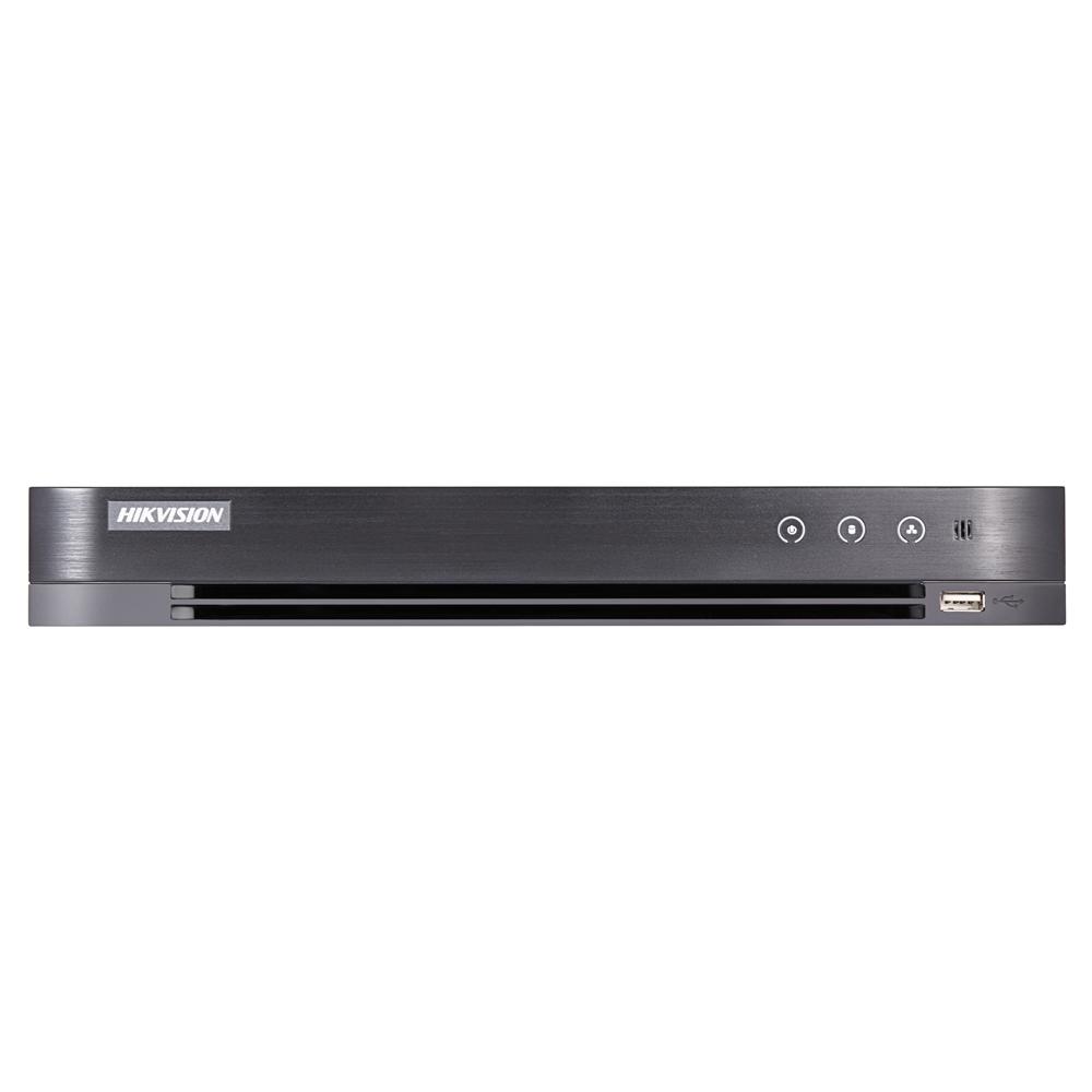DVR TVI/AHD/HDCVI/TURBOHD Hikvision PoC DS-7208HUHI-K2/P, 8 canale, 5 MP