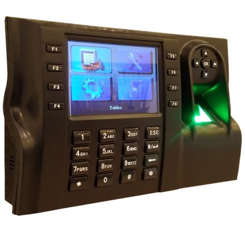Cititor de amprente si de proximitate stand alone cu pontaj ZKTeco iClock 560+ID, RFID, 8000 amprente, 200000 evenimente