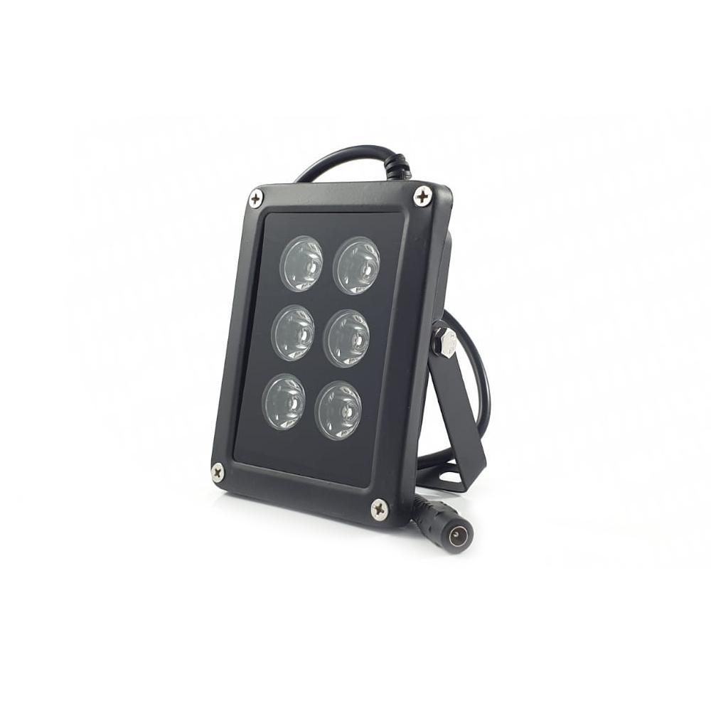 Iluminator IR de exterior Acvil IR6-15, 30 m, 15°