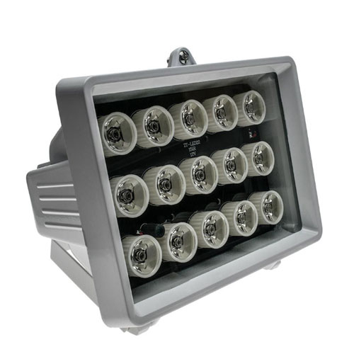 Iluminator IR de exterior IR-4015, 15 LED-uri, 60 m