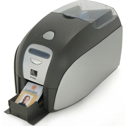 Imprimanta pentru carduri de acces Zebra P110I, 16 Mb, 300 Dpi imagine spy-shop.ro 2021