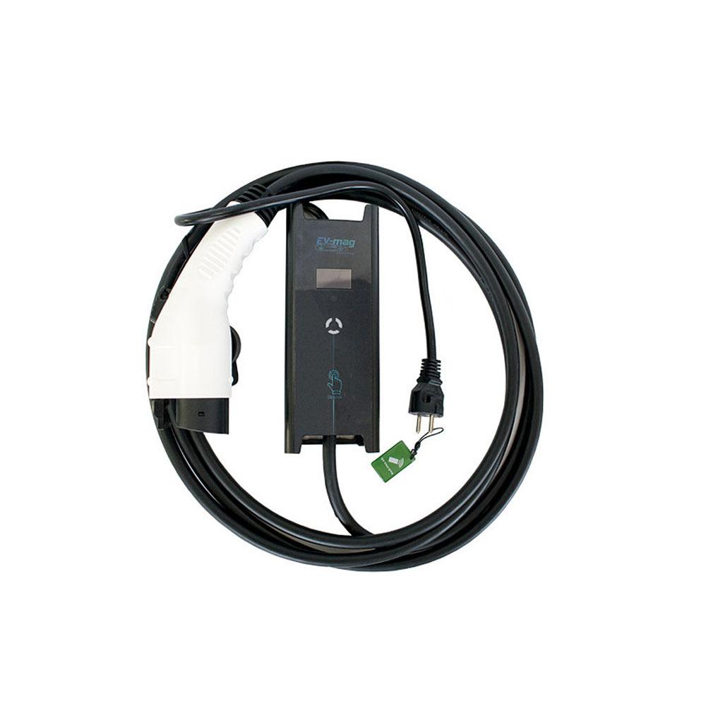Incarcator portabil pentru masini electrice EV-MAG GSZ1-16S, 3.6 kW, 16A, type 1 imagine spy-shop.ro 2021