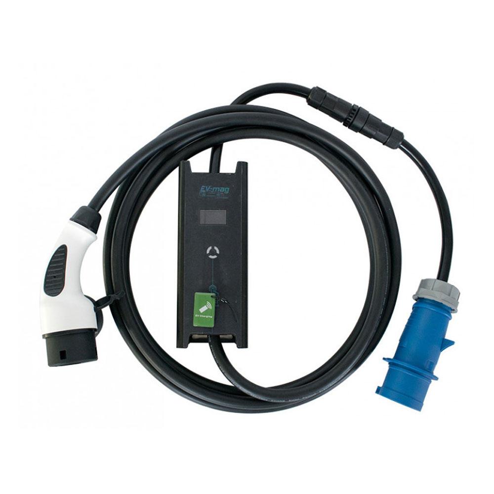 Incarcator portabil pentru masini electrice EV-MAG GSZ2-32B, 7.4 kW, 32A, type 2 imagine spy-shop.ro 2021