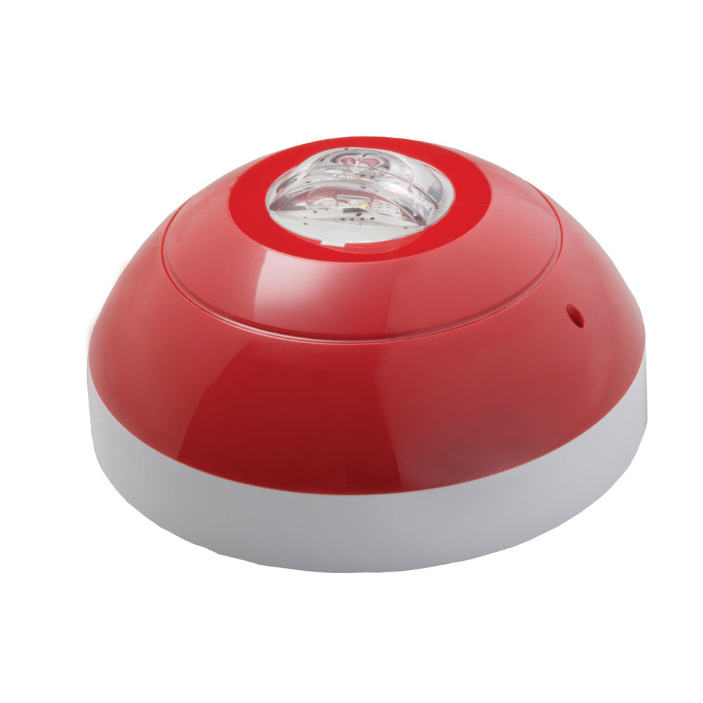 Lampa de incendiu adresabila cu flash alb Apollo VAD 55000-740, alimentare bucla, 0.5 Hz, IP54