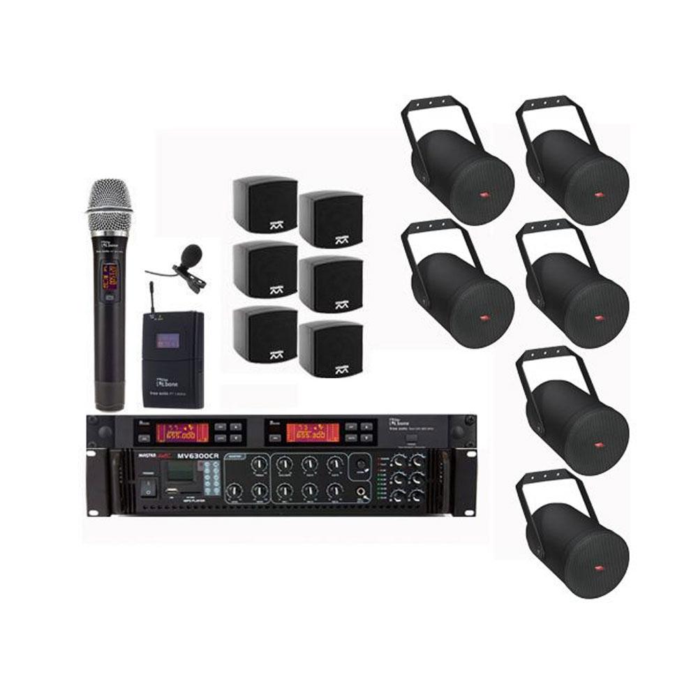 Instalatie sonorizare Biserica PRO-4 Designer, microfon wireless
