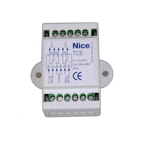 Interfata de control Nice TCE