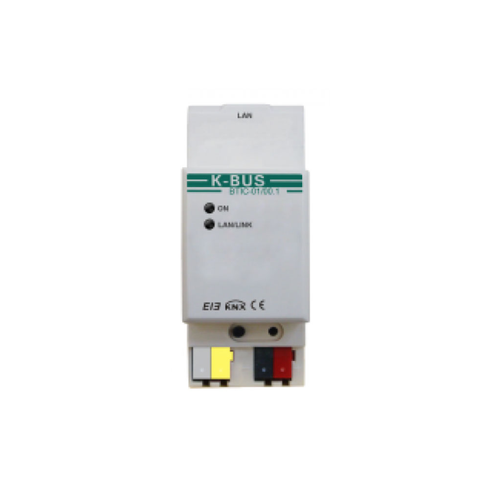 Interfata de comunicare IP/KNX BTIC-01/00.1, BUS, 10/100 Mbps imagine spy-shop.ro 2021