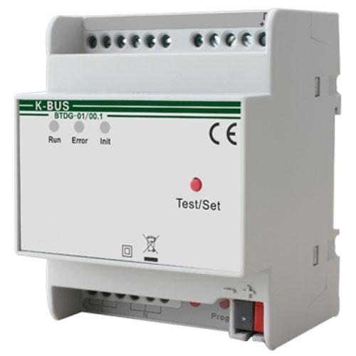 Interfata KNX/DALI BTDG-01/00.1, transmitere status, dimming relativ, 21-30Vcc