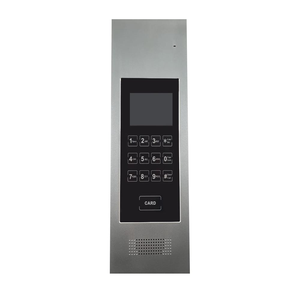 Interfon de exterior GSM 3G, 50 familii, aparent, 3.5 inch