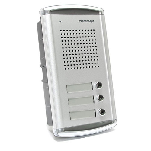 Interfon de exterior Commax DR-2A3N, 3 familii, ingropat, 4 fire imagine spy-shop.ro 2021