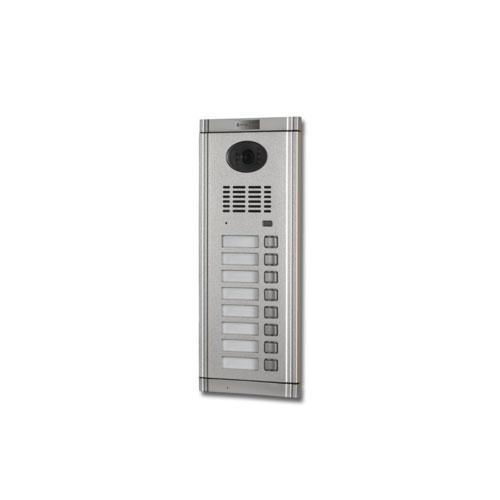 Videointerfon de exterior Genway CM-02NE-C 1*8, 8 familii, ingropat, vila
