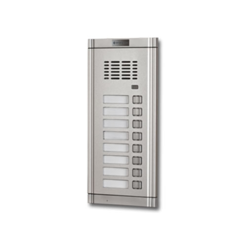Interfon de exterior Genway WL-02NE 1*8, 8 familii, ingropat, aluminiu imagine spy-shop.ro 2021