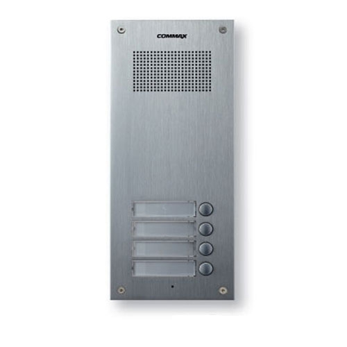 Interfon de exterior Master Commax DR-4UM, 4 familii, 12 V, ingropat imagine spy-shop.ro 2021