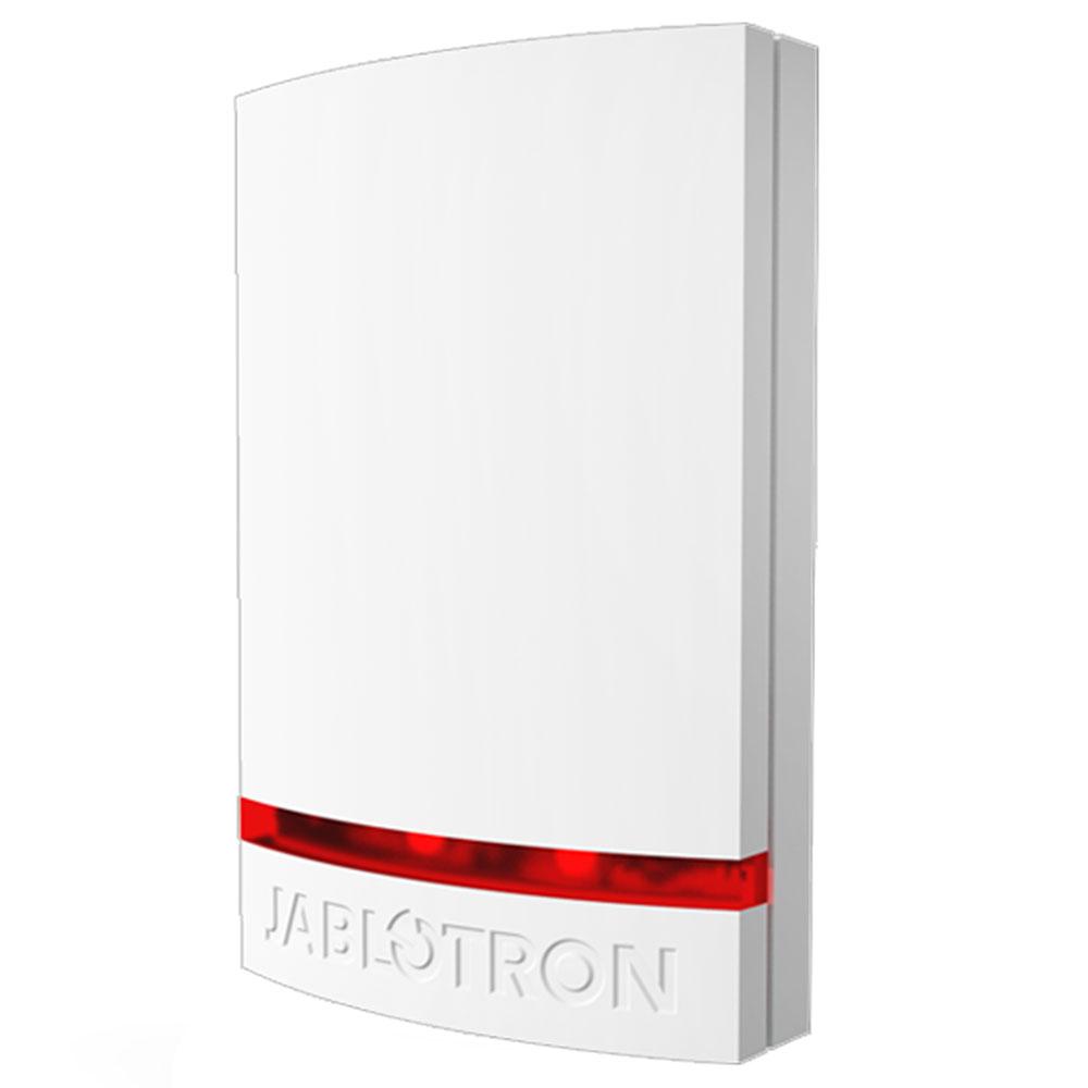 Sirena de exterior wireless adresabila cu flash Jablotron 100 JA-151A, 110 dB, RF 300 m, IP44 imagine spy-shop.ro 2021