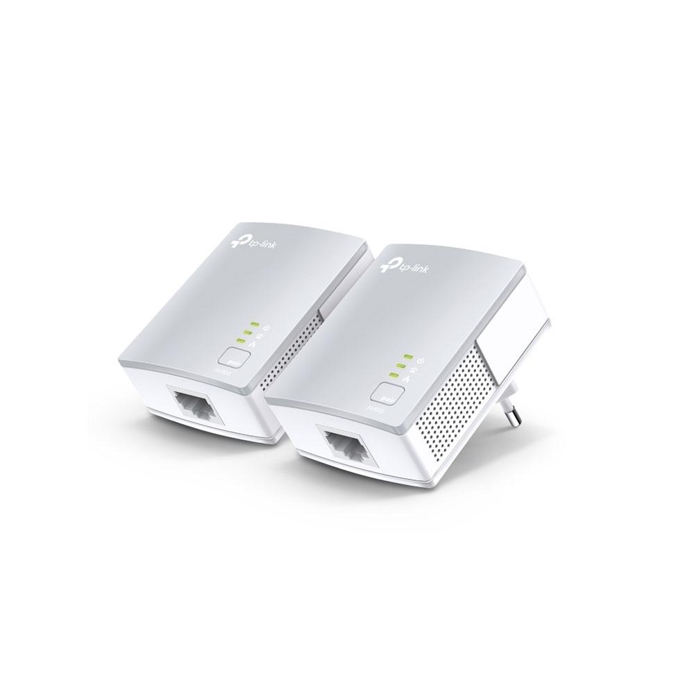 Kit adaptor powerline TP-Link TL-PA4010KIT, 600 Mbps, 300 m imagine spy-shop.ro 2021