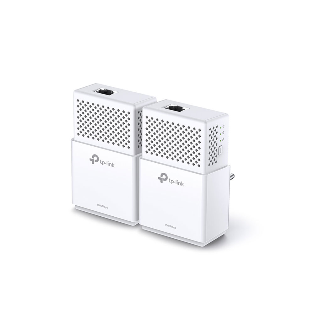 Kit adaptor powerline TP-Link TL-PA7010KIT, 1000 Mbps, 300 m, control de pe telefon imagine spy-shop.ro 2021