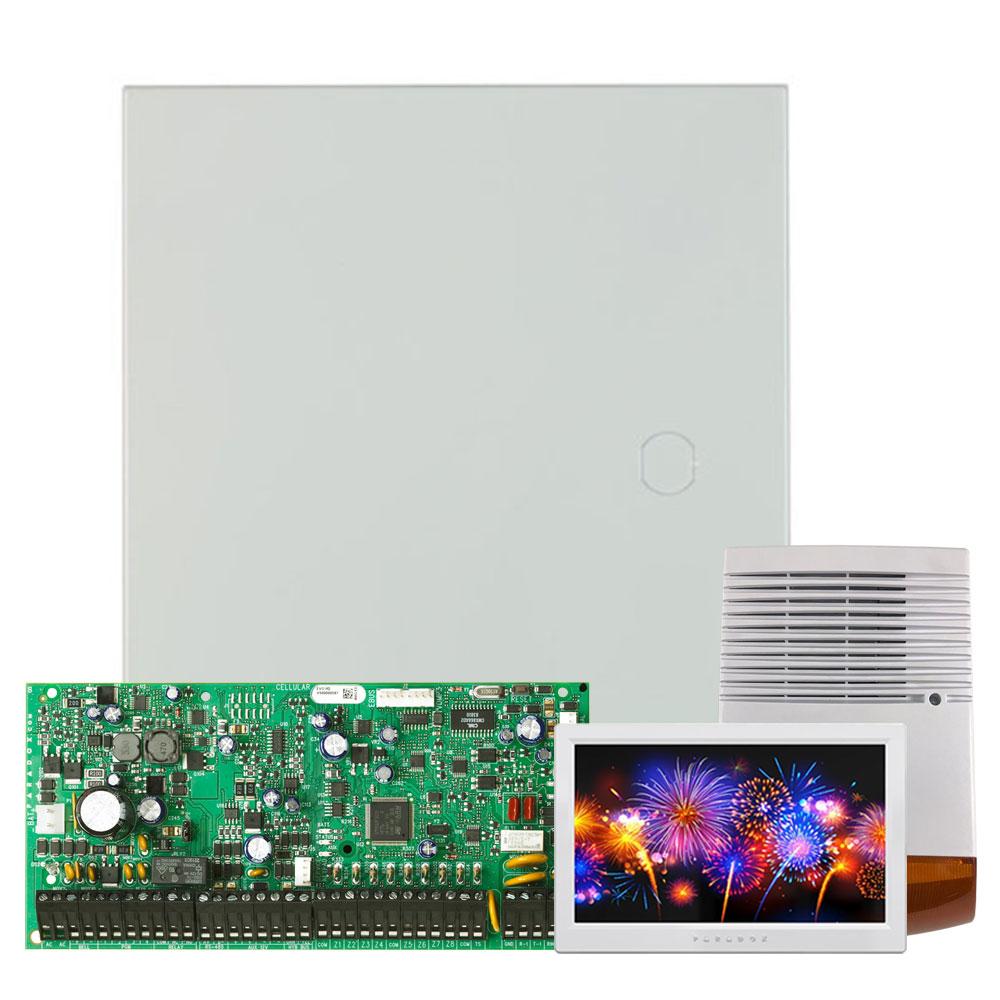 Kit alarma antiefractie Paradox Digiplex EVO192+TM70+SL-900B, 8 partitii, 8-192 zone, 999 utilizatori, cutie cu traf imagine spy-shop.ro 2021