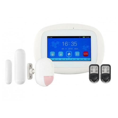 Kit alarma wireless Kerui KR-K5, 4.3 inch, 99 zone, WiFi, 3G