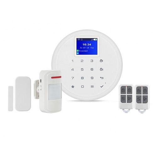 Kit alarma wireless Kerui KR-W17, 2.4 inch, WiFi, GSM