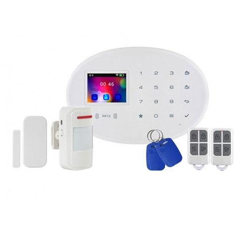 Kit alarma wireless Kerui KR-W20, 2.4 inch, WiFi, GSM