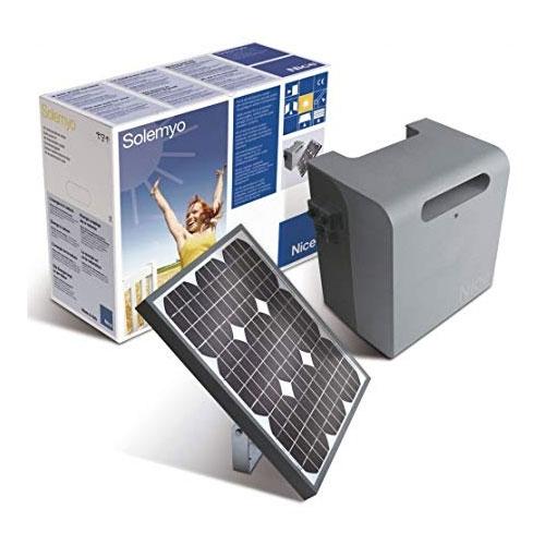 Kit alimentare cu energie solara Solemyo Nice SYKCE, 24 V, 20 Ah