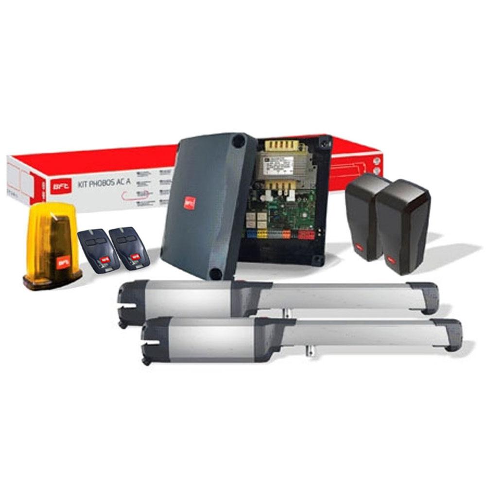 Kit automatizare poarta batanta BFT PHOBOS AC A25, 400 Kg/canat, 2.5 m/canat, 230 V imagine spy-shop.ro 2021