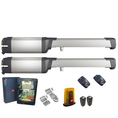 Kit automatizare poarta batanta BFT PHOBOS BT A40, 500 Kg/canat, 4 m/canat, 230 V