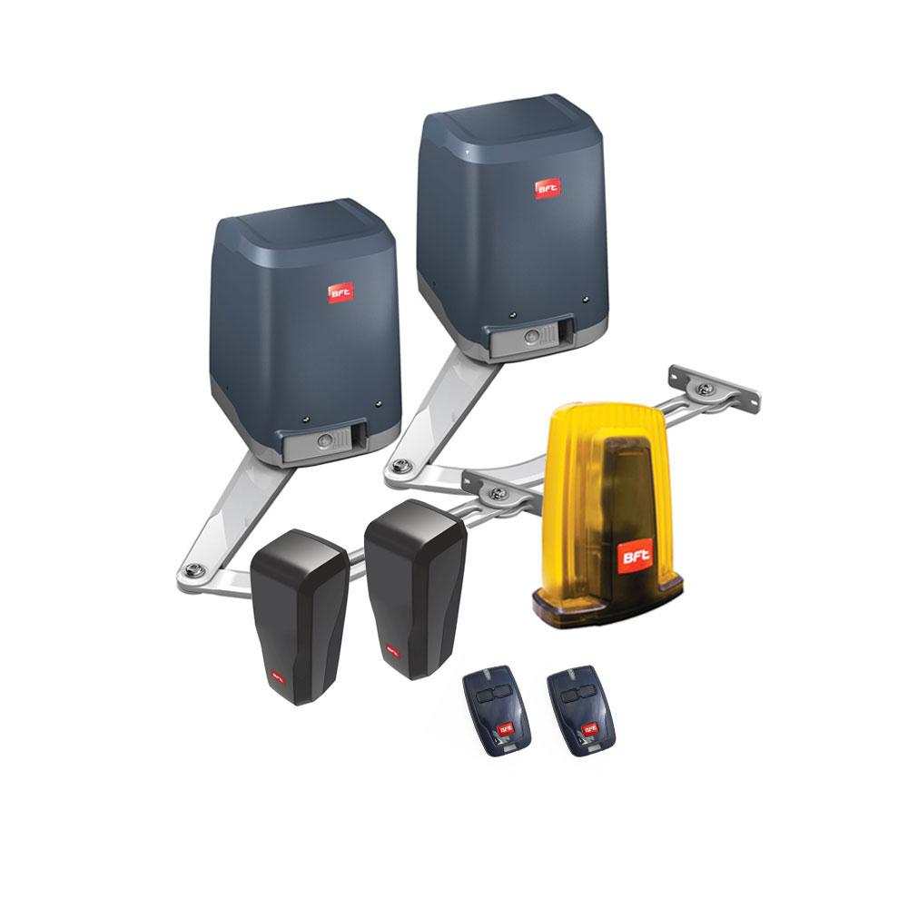 Kit automatizare poarta batanta BFT VIRGO-24V, 250 Kg/canat, 2m/canat, 24 V imagine spy-shop.ro 2021