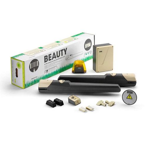 Kit automatizare poarta batanta Byou Beauty, 200 Kg/canat, 2 m/canat, 24 V imagine spy-shop.ro 2021