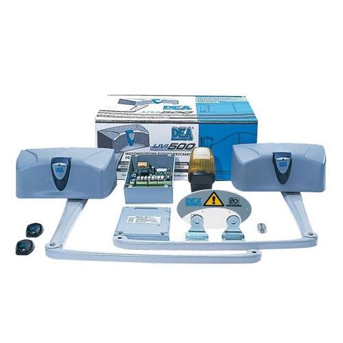 Kit automatizare poarta batanta Dea 502/NET, 600 Kg/canat, 3 m/canat, 230 Vac imagine spy-shop.ro 2021