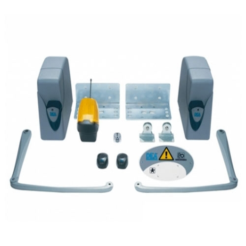 Kit automatizare poarta batanta Dea Angolo 24 NET/2, 2.5 m/canat, 24 V, 300 Kg/canat imagine spy-shop.ro 2021