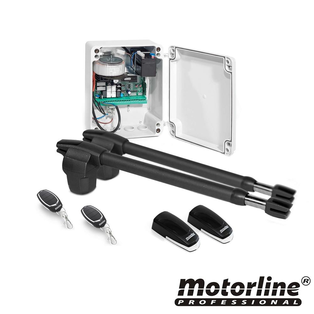 Kit automatizare poarta batanta Motorline LINCE400, 250 Kg, 4 m, 110 VAC