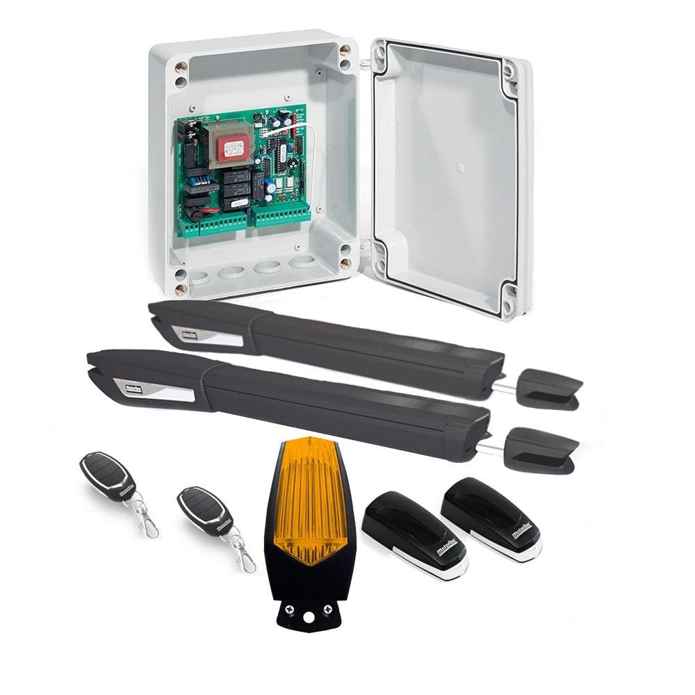 Kit automatizare poarta batanta Motorline JAG 400 - 230V, 250 Kg/canat, 3 m/canat, 300 W imagine spy-shop.ro 2021