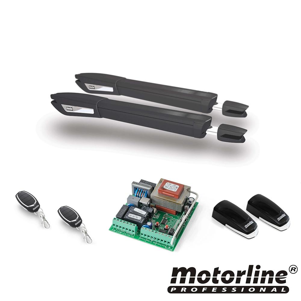 Kit automatizare poarta batanta Motorline JAG600, 250 Kg, 2x4 m, 230 Vac