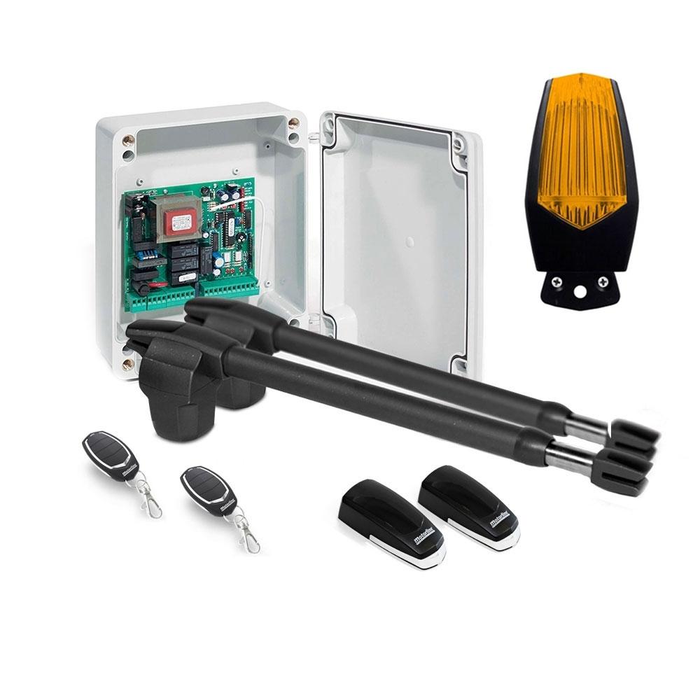 Kit automatizare poarta batanta Motorline LINCE 600 - 230V, 250 Kg/canat, 4 m/canat, 180 W
