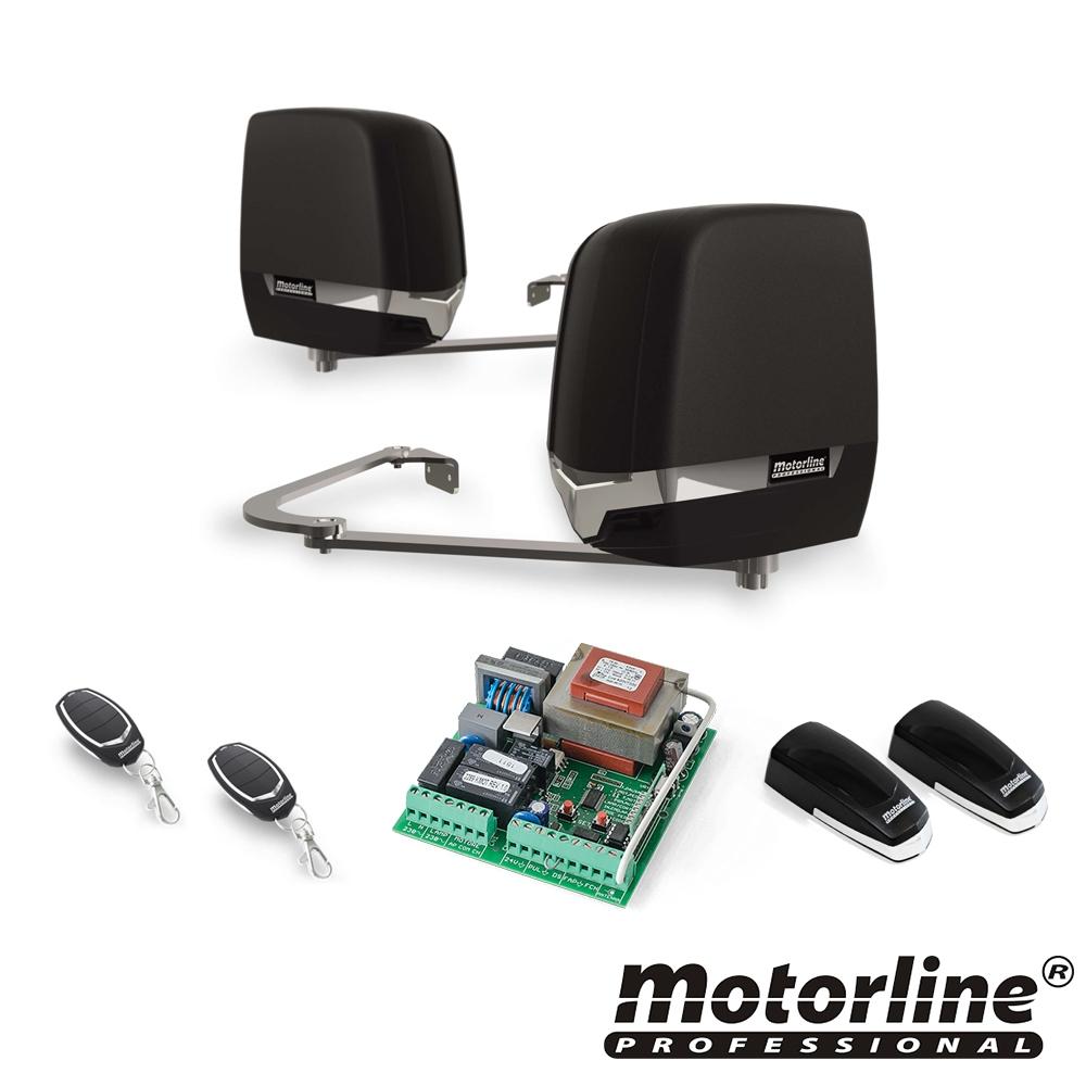 Kit automatizare poarta batanta Motorline TELICA230, 200 Kg, 2.5 m, 230 V