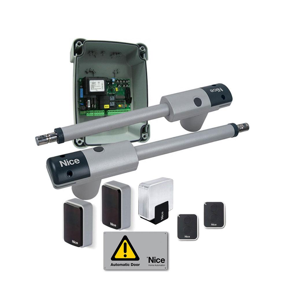 Kit automatizare poarta batanta Nice TOO3000KLT, 300 Kg/canat, 3 m/canat, 230 V imagine spy-shop.ro 2021