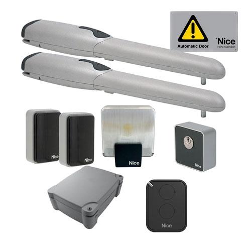 Kit automatizare poarta batanta Nice WINGOKCEA60, 200 Kg/canat, 2 m/canat, 230 V