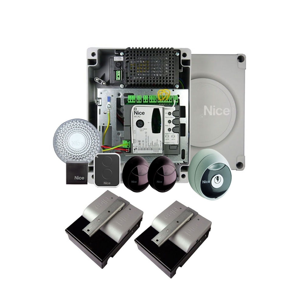 Kit automatizare poarta batanta Nice XMETRO2024KCE, 2.3 m, IP 67