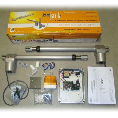 Kit automatizare poarta batanta Proteco Be Jack, 2.5 m, 220 V, lampa inclusa