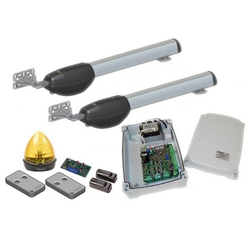 Kit automatizare poarta batanta Roger Technology BE20/300, 400 Kg/canat, 2.5 m/canat, 200 V