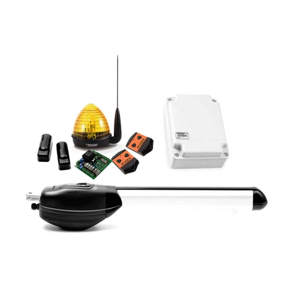 Kit automatizare poarta batanta Roger Technology Kit R20/310, 250 Kg, 2.5 m, 230 Vac imagine