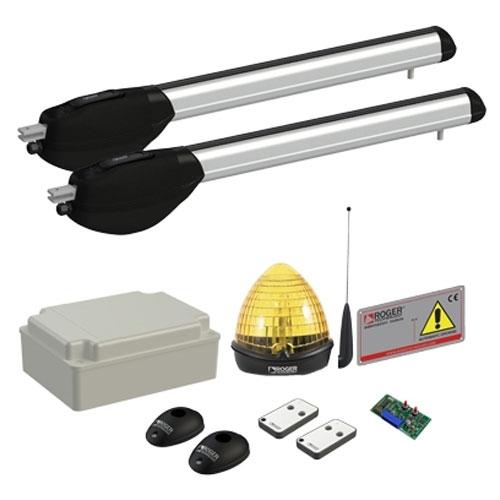 Kit automatizare poarta batanta Roger Technology R20510, 5 m, 230 V, 200 W